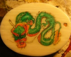 dragon scrimshaw color