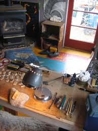 Another pic of Tina White's studio