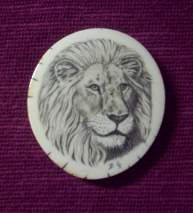 Belle Ochs' Lion Portrait